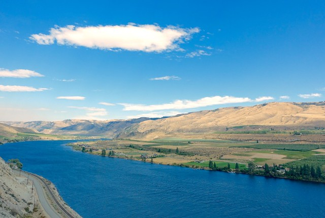 Columbia River, south of Chelan WA