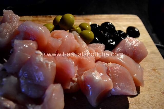 Blanc de Poulet à la Dijonnaise & Deux Olives © Ana Luthi Tous droits réservés  002