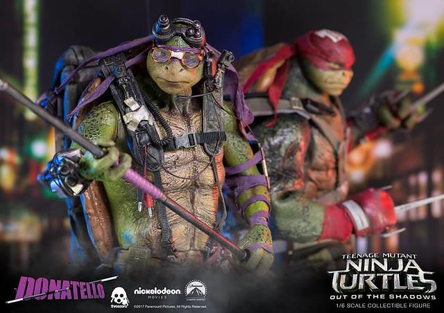 threezero 忍者龜:破影而出【多納太羅】Teenage Mutant Ninja Turtles Donatello 1/6 比例人偶作品