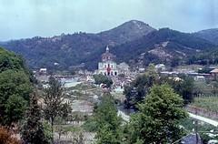 Gimigliano (CZ), 1977, Pellegrinaggio e festa per la Madonna di Porto: il Santuario in località Porto di Gimigliano.