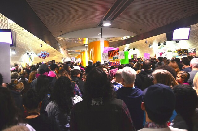 Metro Station, LA. Completely unprepared.