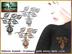 Bliensen - Sidonie - brooch