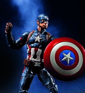 《英雄內戰》熱門角色全員集結!孩之寶漫威復仇者聯盟6吋傳奇英雄收藏人物組在台上市~