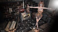 Around the stove