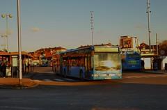 ZET 189 (ZG 2152 DV) on route 125 at Črnomerec, Zagreb - 29th December 2016