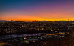 Sunrise over Trondheim