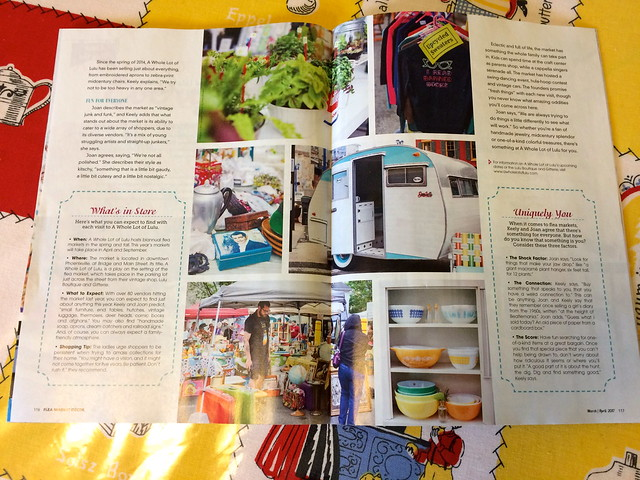 Our Serro Scotty Camper with Whole Lot of Lulu - Flea Market Decor Magazine