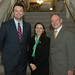 State Representatives Jesse MacLachlan, Rosa C. Rebimbas and Fernando G. Rosa, chairman of PALCUS, during the annual Day of Portugal reception and awards night at the State Capitol in Hartford on Tuesday, June 9, 2015.