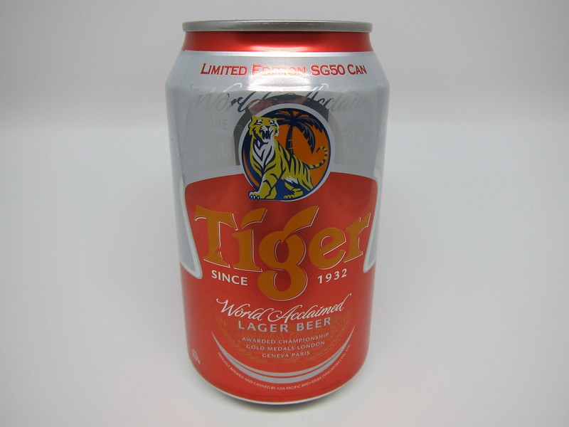 Tiger Beer Limited Editon SG50 Can - Front