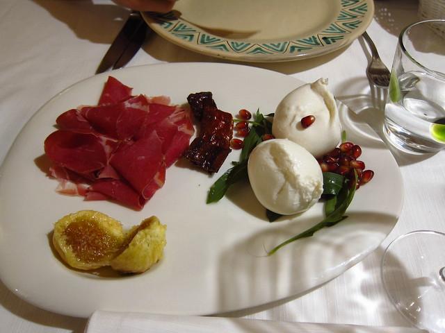 Figs & Burrata @ Osteria del Tempo Perso