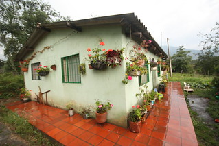 The house out in the sticks.  Villa De Leyva. Colombia