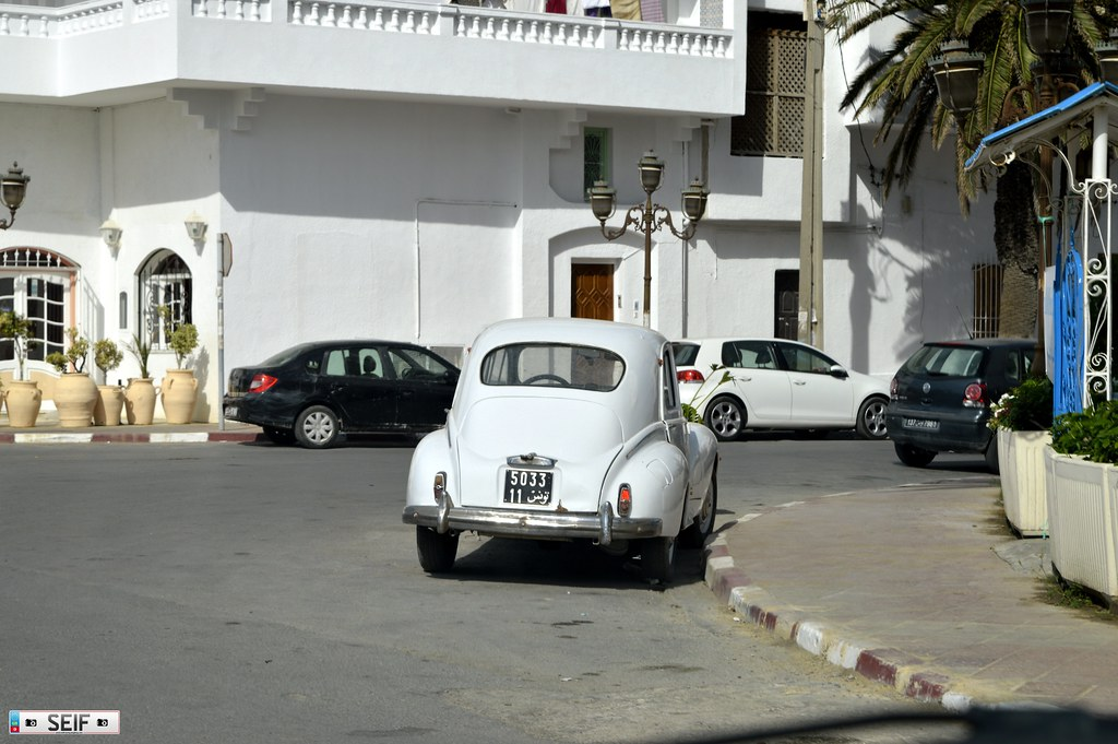 Renault 4CV Tunisia 2015