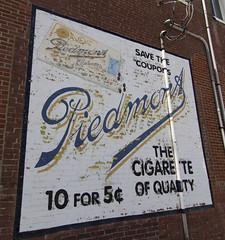 Georgetown, Kentucky restored sign
