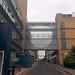 Glass overhead walkways