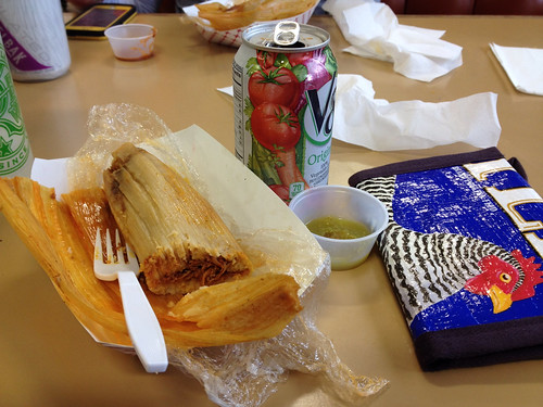 Tamale and V-8, Moothart's Market, Independence, OR