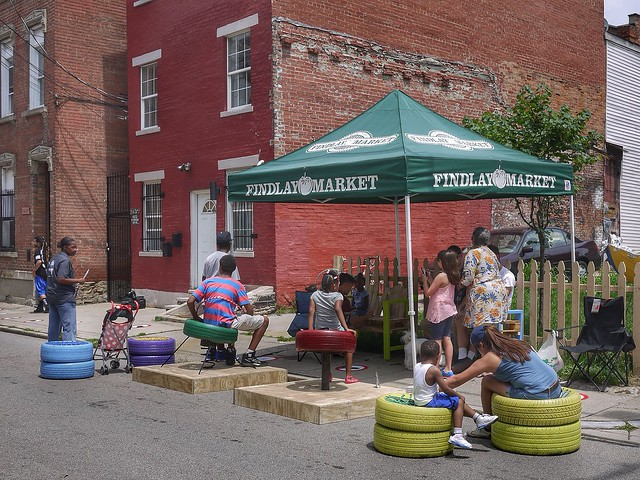 Parklets on Pleasant
