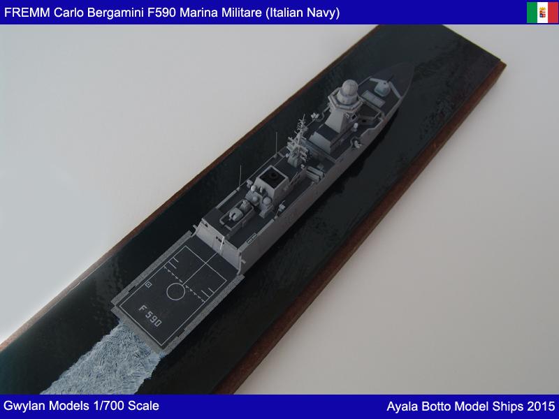 FREMM Carlo Bergamini F590 Frégate - Gwylan Models 1/700 19769340232_426cc5c250_o