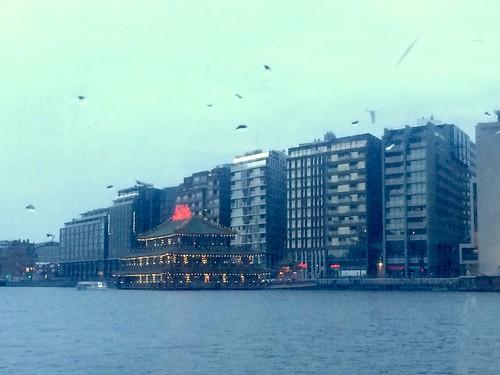 Floating Chinese restaurant, Amsterdam
