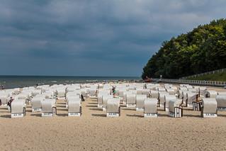 Hauptstrand közelében Ostseebad Sellin képe. beach strand de landscape deutschland coast countryside rügen landschaft strandkorb sellin küste mecklenburgvorpommern beachchair