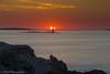 Sunrise over Ram Island Ledge Light by dmj.dietrich