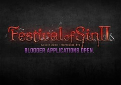 Blogger Applications Open! - Festival of Sin II by Hottie Cooterati