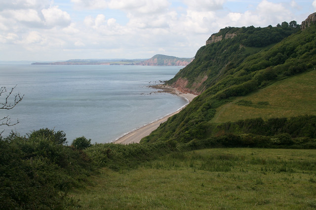Weston Mouth east of Sidmouth