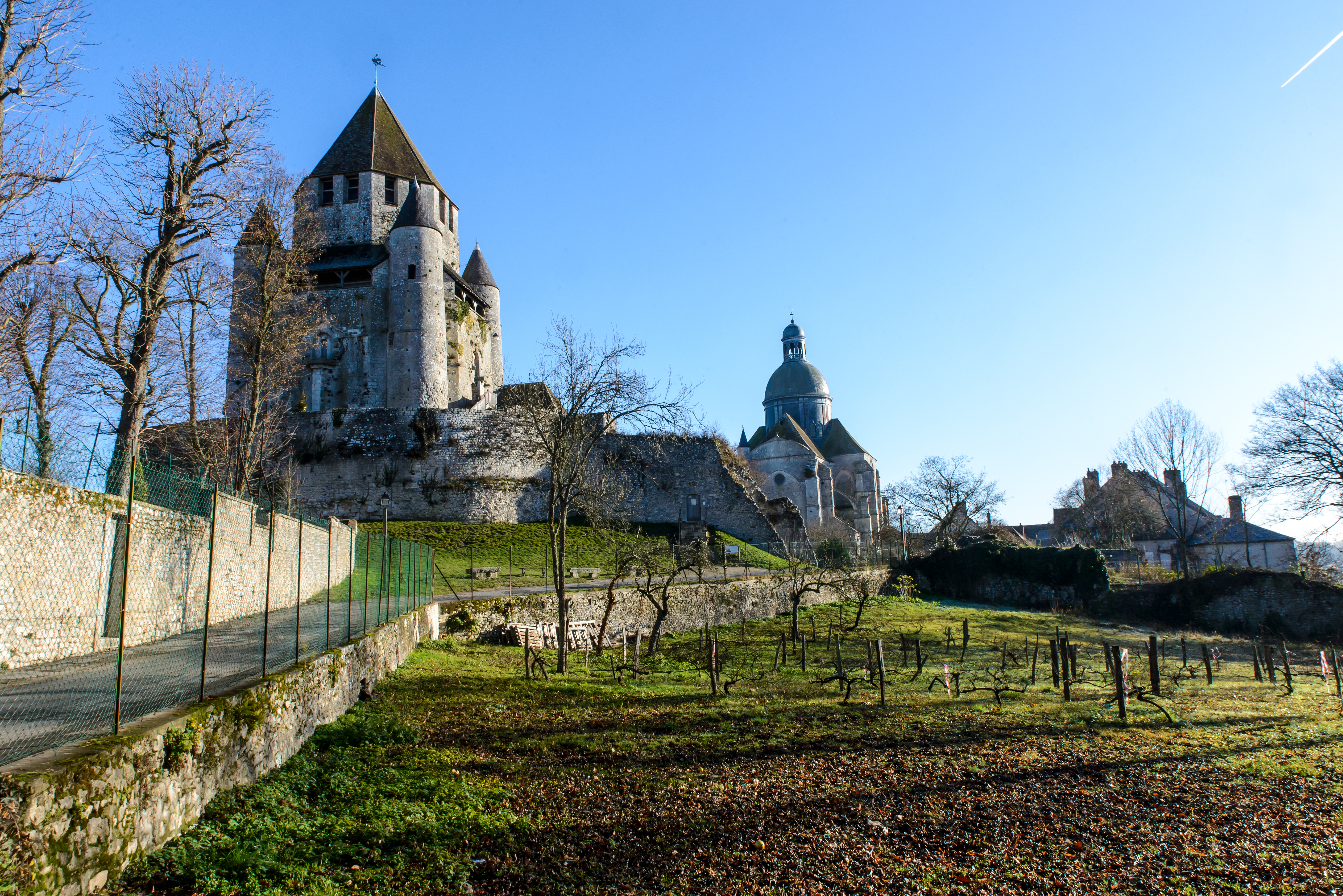 Experience the charming Medieval city of Provins