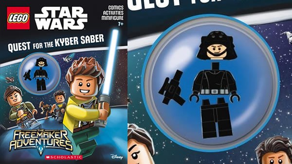Lego Star Wars Quest Kyber Saber activity book