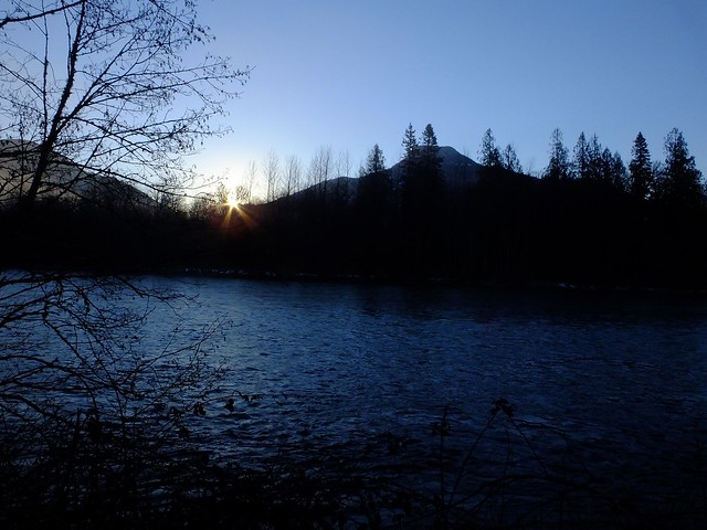 Skagit River Dawn