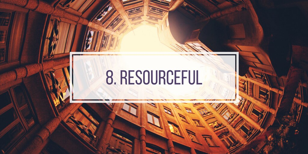 8. RESOURCEFUL