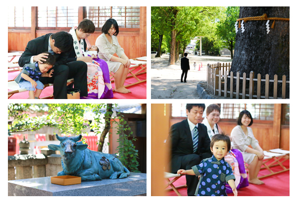 お宮参り写真 出張撮影 拳母神社(愛知県豊田市)家族写真 全データ オススメ ナチュラル おしゃれ 赤ちゃん写真