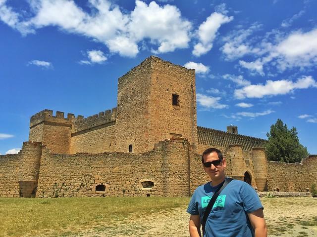 Sele en el castillo de Pedraza (Segovia)