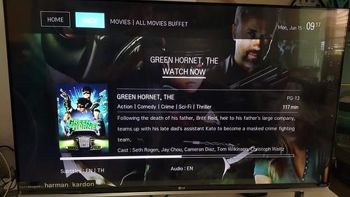 หนังจากบริการ PrimeTime มีทั้งแบบบุฟเฟ่ต์จ่ายรายเดือน และหนังใหม่เช่าเป็นรายเรื่อง