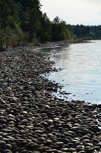 summer lake canada june rock shore alberta lesser slave 6月 2015 六月 カナダ minazuki 水無月 アルバータ州 rokugatsu monthofwater 平成27年