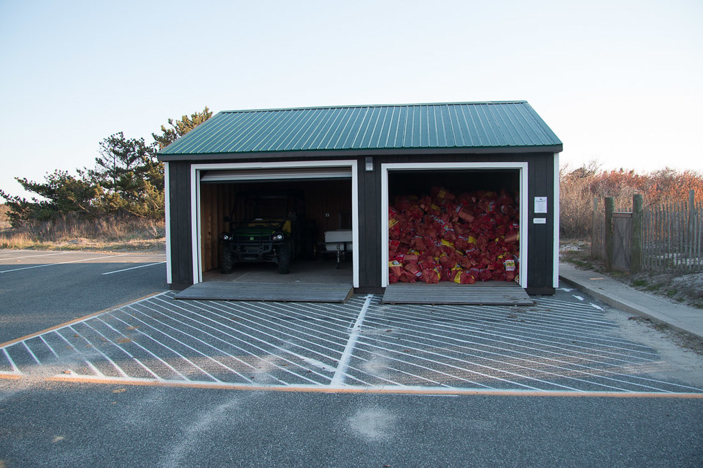 Firewood for sale at Assateague State Park