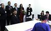 Juiz auxiliar da presidência do Conselho Nacional de Justiça (CNJ), Luis Geraldo Lanfredi, visitou, na tarde desta sexta-feira (26), o Centro de Triagem do Complexo Penitenciário de Viana - ES.