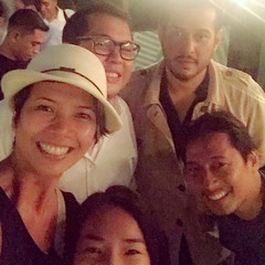 "Loved meeting these strapping ""young"" photographers. @studioguerrero @skylightimages @jasonquibilan what an honor. #singapore #summer #pinoys I'm in good company"