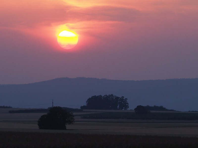 Red Sunset, July 2, 2015
