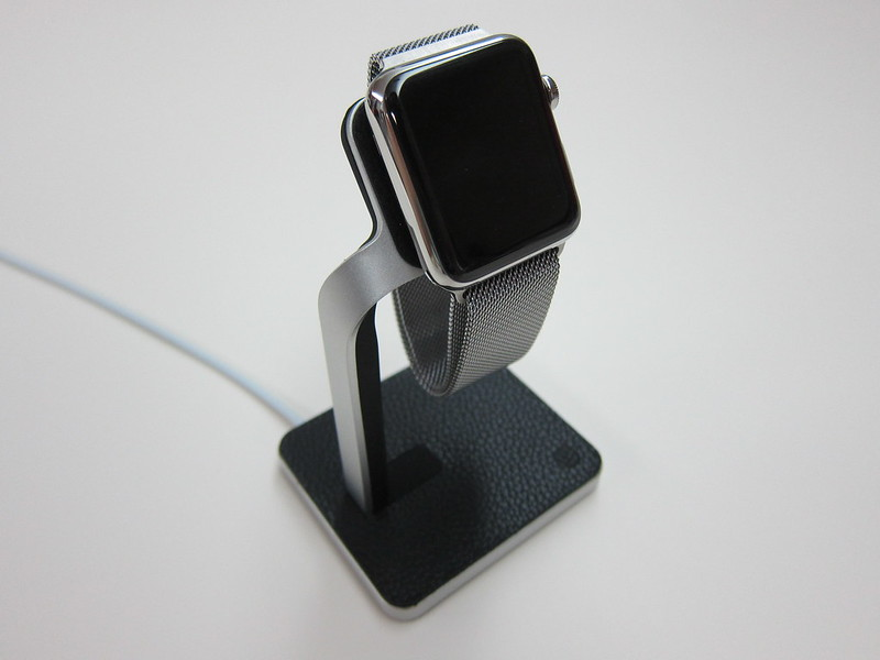 Mophie Apple Watch Dock - With Apple Watch