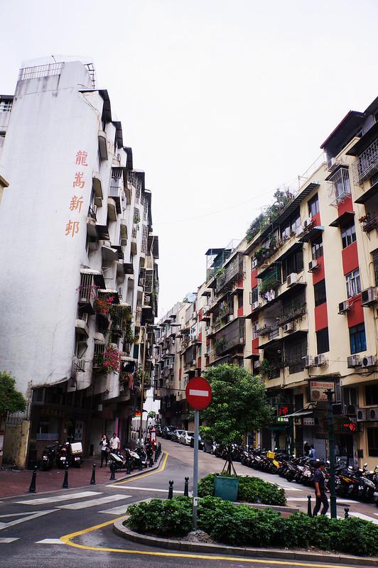 Random Street in Macau