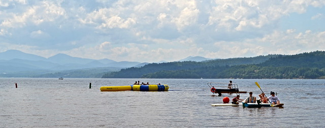 swimming and diving on lake champlain - Basin Harbor Club, Vermont