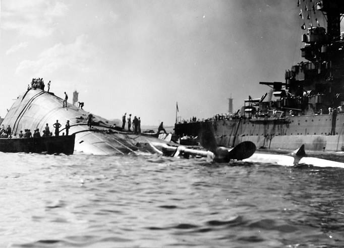 USS Oklahoma Battleship (BB-37) Pearl Harbor