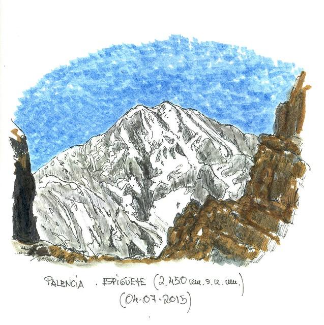 Espigüete (2.450 m.s.n.m.) Palencia