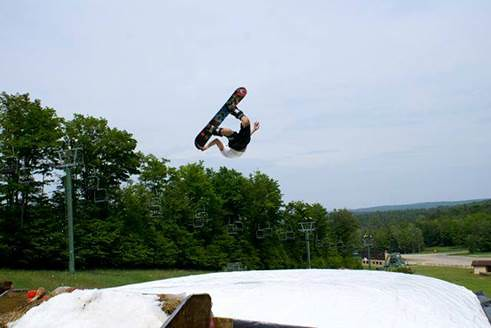 Treetops Summer Snowboard Camps