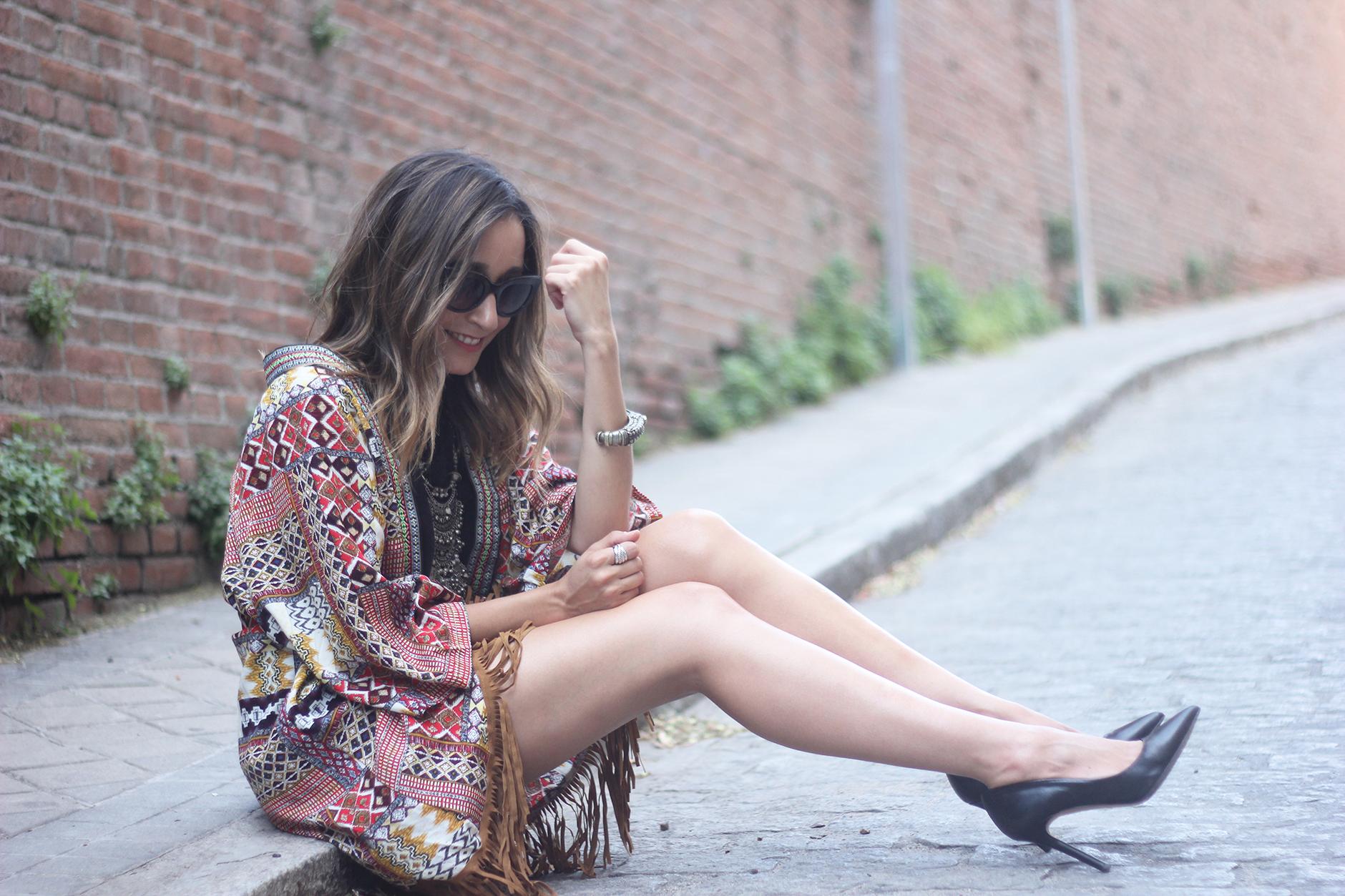 Kimono With Black Jumpsuit16