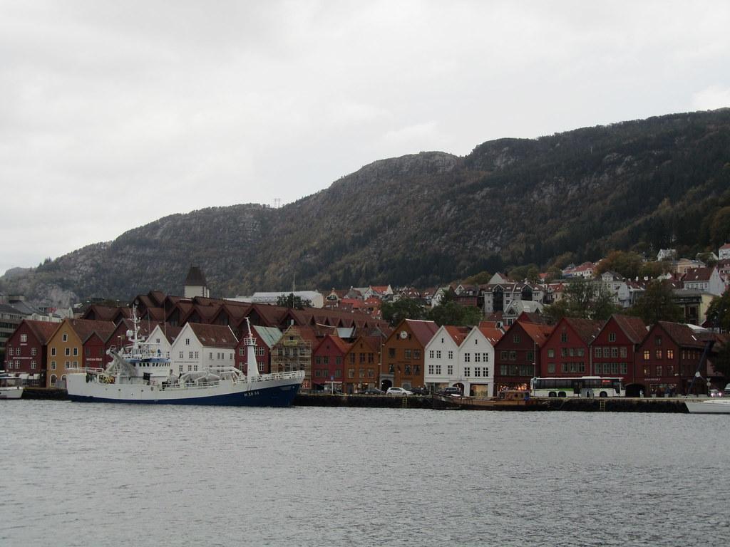 Vista del Bryggen
