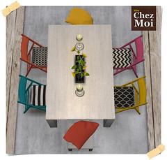 Summer Dining Room CHEZ MOI