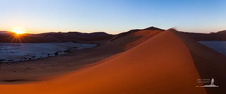 Dawn Over Namib