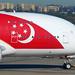 Singapore Airlines A380 9V-SKI 'SG50' Syd Jul15 by JKKW