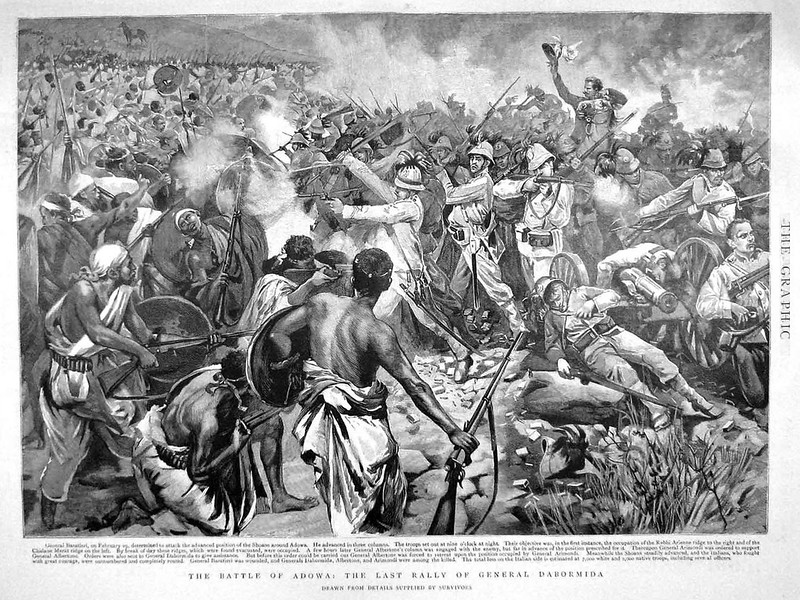 Gravure of Battle of Adwa